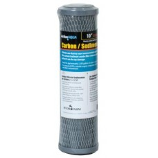 Carbon and Sediment Combo Filter 10""