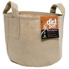 Dirt Pot Tan 100 Gal w/Handle